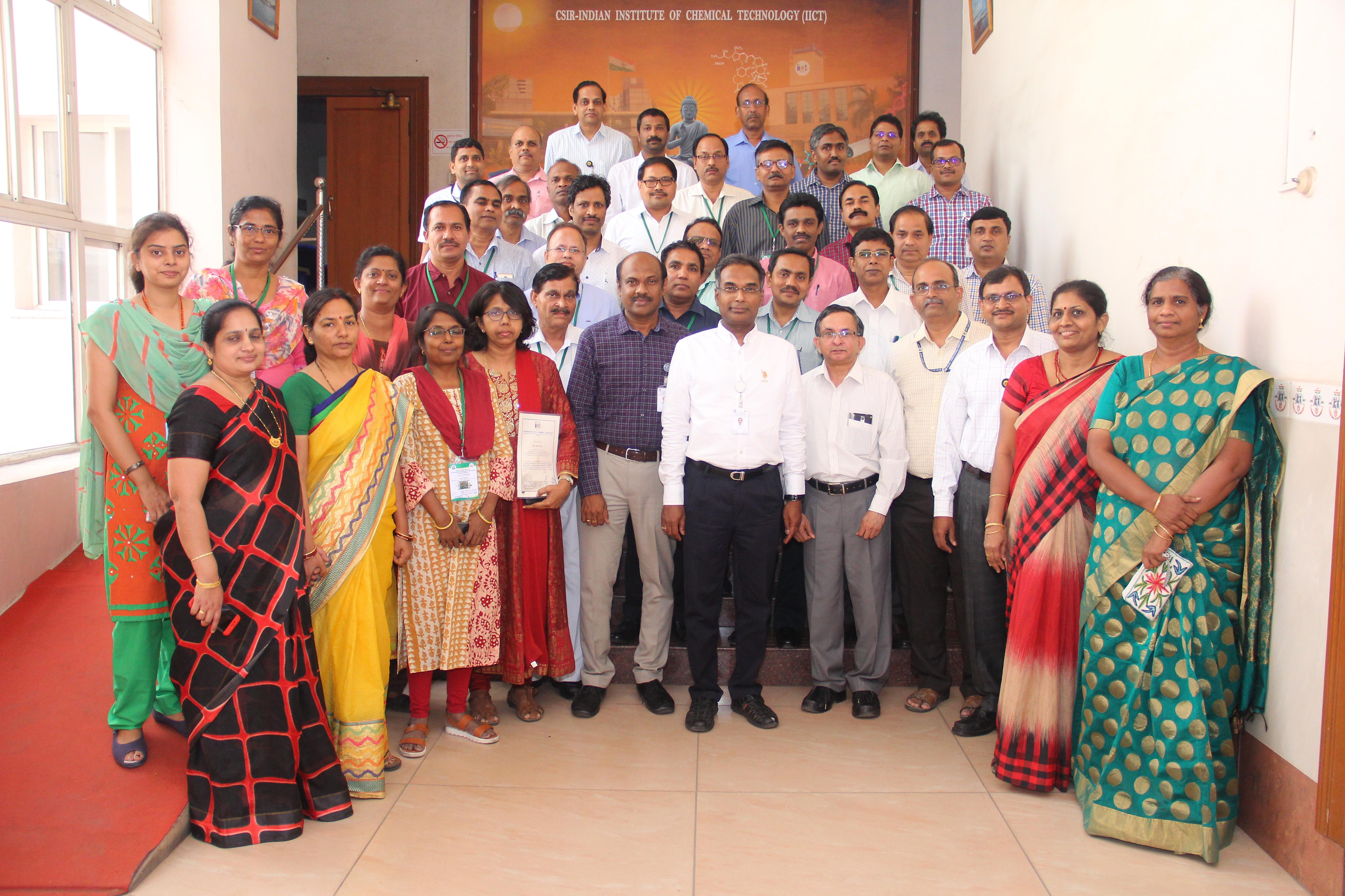 Training course on Chromatographic & spectroscopic methods of anlaysis