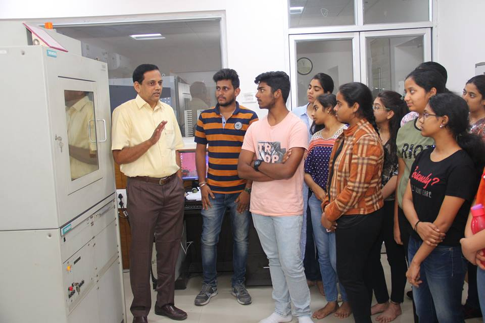 Visit to X-ray department